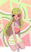 watermelon dreams by okyi