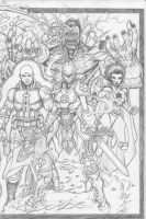 Sketch book cover side 1 by c-crain