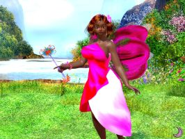 Millie the fairy of flowers by Aisiko