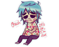 Ouch.......It's OK, I'm FINE. by KHAqua