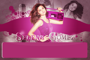 Selena Gomez Layout by Rikkimermaid95