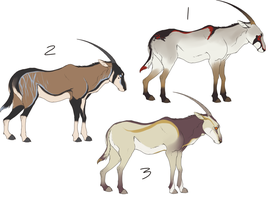 Oryx adoptables- PAYPAL/POINTS- OPEN-REDUCED PRICE by Pekan-Pie