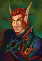 Portrait Commission - Sorin by bylacey