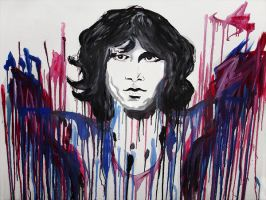 The Doors - Jim Morrison by mudridedotcom
