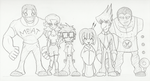 Parody Rangers Size-Chart by Kirbopher15