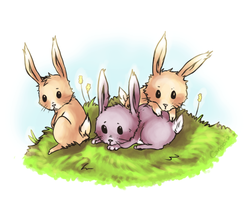Bunnies for Seretti by cannorachan