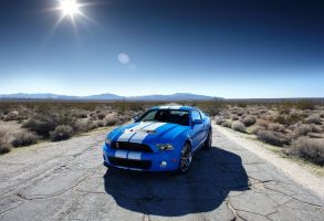 Mustang Shelby GT500 2010 by TheCarloos