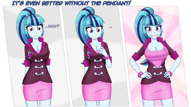 It's even better without the pendant! by Slackerburst