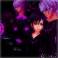 Riku and Xion by Graces87