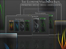 The Elements Wallpaper Pack by FSDown