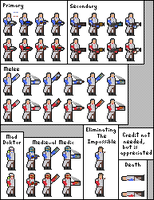 Medic Sprite Sheet by 1Ant99