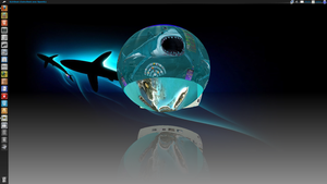 Compiz dock Sphere by axilien