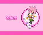 STC Sonic channel Amy rose by Gothicraft