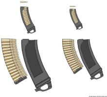 SA - 30 Round Curved Mags by Lord-Malachi