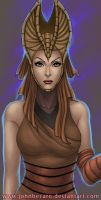 Bust Commission: Night Sister by johnbecaro