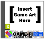 Game-Fi Diamond Award Cover Template by LevelInfinitum