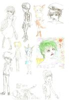 Mid 2010 drawings by SillyPen