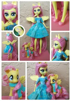 MH Fluttershy Custom Doll - sold by psaply