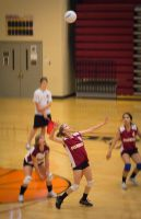 Columbia High Volleyball 2 by Hinatalover17