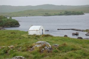 Ireland: Cottage on the way by Amliel