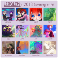 2013 Summary of Art by Leaglem