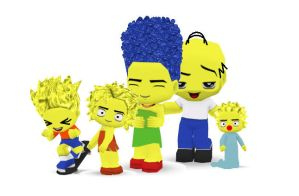 The Simpsons Buddypoke by Ben2DJammin