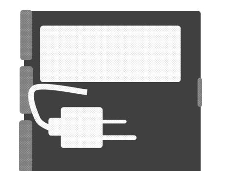 charger on folder by quickgrid