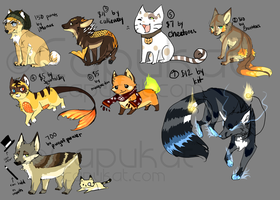 Livestream Auction Adoptables by Capukat