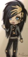 Andy Biersack from Black Veil Brides by dr53