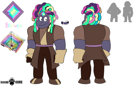 Steven Universe OC: Bismuth by KyuubiCore