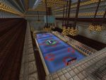 MINECRAFT Rogers Arena Hawkeye View #2 by vaderandrew