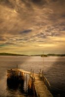 Wharf with Weird Light by Witch-Dr-Tim