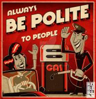 Always BE POLITE by roberlan