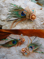 Elegant Steampunk Fascinators by Kudrel-Cosplay