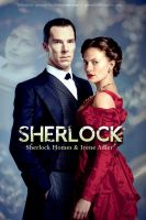 Sherlock and Irene - The Abominable Bride Poster by gwendy85
