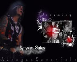 Dreaming Synyster Gates by MischiefIdea