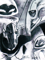 Grievous x EVE.3 sketches by PurpleRAGE9205