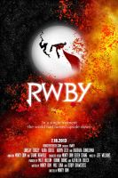 RWBY: Red - Movie Poster by Kahiyao