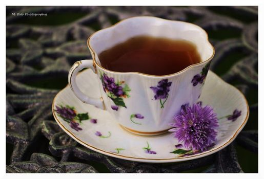 Tea and Chives by erbphotography
