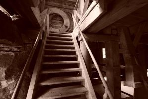 Edets Kvarn basement stairs by duncan-blues