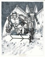 Colossus Magik ArchAngel by BrianVander