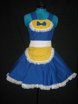 Vegeta Inspired Cosplay Pinafore by DarlingArmy