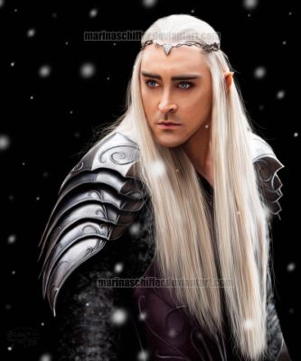 Thranduil - Lee Pace by MarinaSchiffer