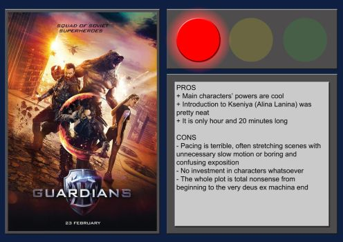 The Guardians - Movie Review by BlueprintPredator