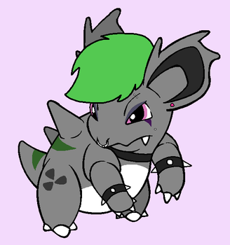 Toxie the Nidorina ( new look and name ) by GengarPunk95