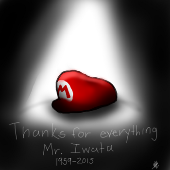 Thanks For Everything Mr. Iwata by saskianaDarkLink