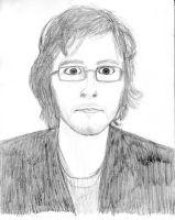 Myself - pencil by willmeister42