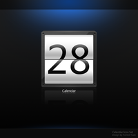 Calendar Icon Set by ypf