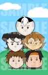Voltron Paladins - Tsum Tsum by Arus