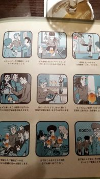 Manga manual for drinking beer by P-i-e-r-r-e